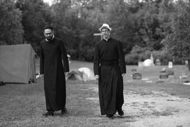 2016 July 29 - Pilgrimage stop Esmonde20 Frs Scott & Peter