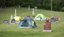 2016 July 29 - Pilgrimage stop Esmonde21 cemetery