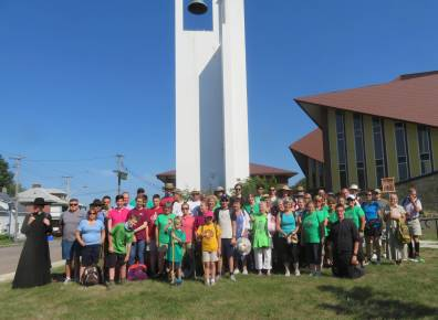 2018 July 26 - St Ann's Walk the Opeongo Line Pilgrimage Day 1-08