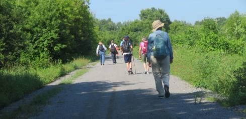 2018 July 26 - St Ann's Walk the Opeongo Line Pilgrimage Day 1-10