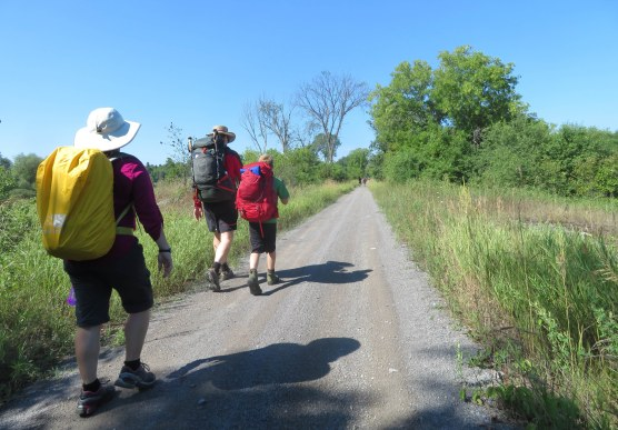 2018 July 26 - St Ann's Walk the Opeongo Line Pilgrimage Day 1-12