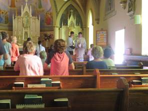 2018 July 26 - St Ann's Walk the Opeongo Line Pilgrimage Day 2-07