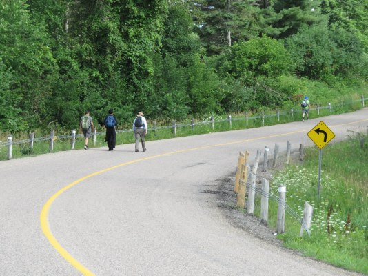 2018 July 28 - St Ann's Walk the Opeongo Line Pilgrimage Day 3-21