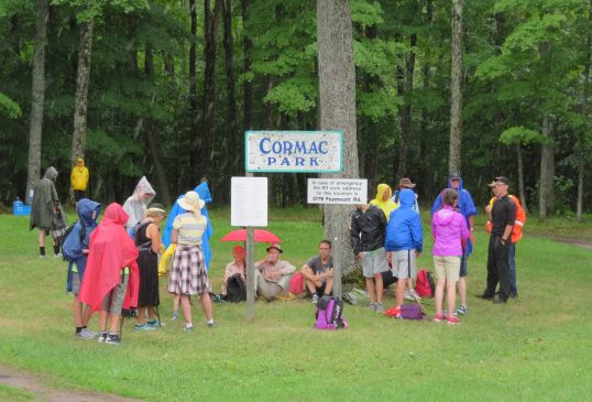 2018 July 28 - St Ann's Walk the Opeongo Line Pilgrimage Day 3-63
