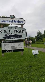 k and p trail sign