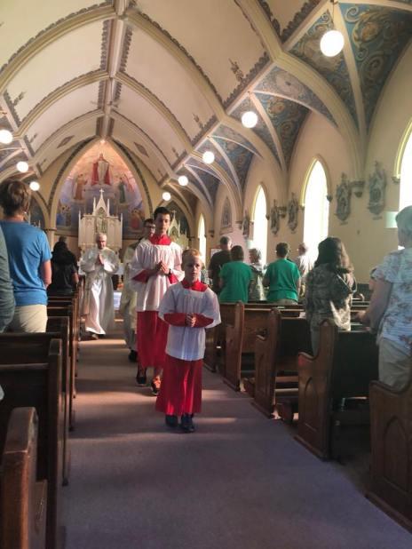 st. patrisk final procession