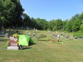 Tom in Cemetery